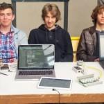 Stoisko projektowe grupy polsko-niemieckiej