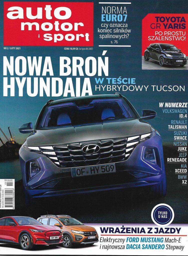 Okladka_AutoMotor_Sport 2021 nr 2