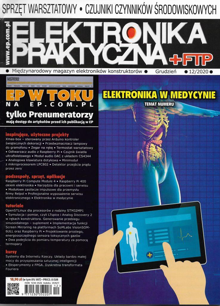 Okladka_Elektonika Praktyczna_2020_nr 12