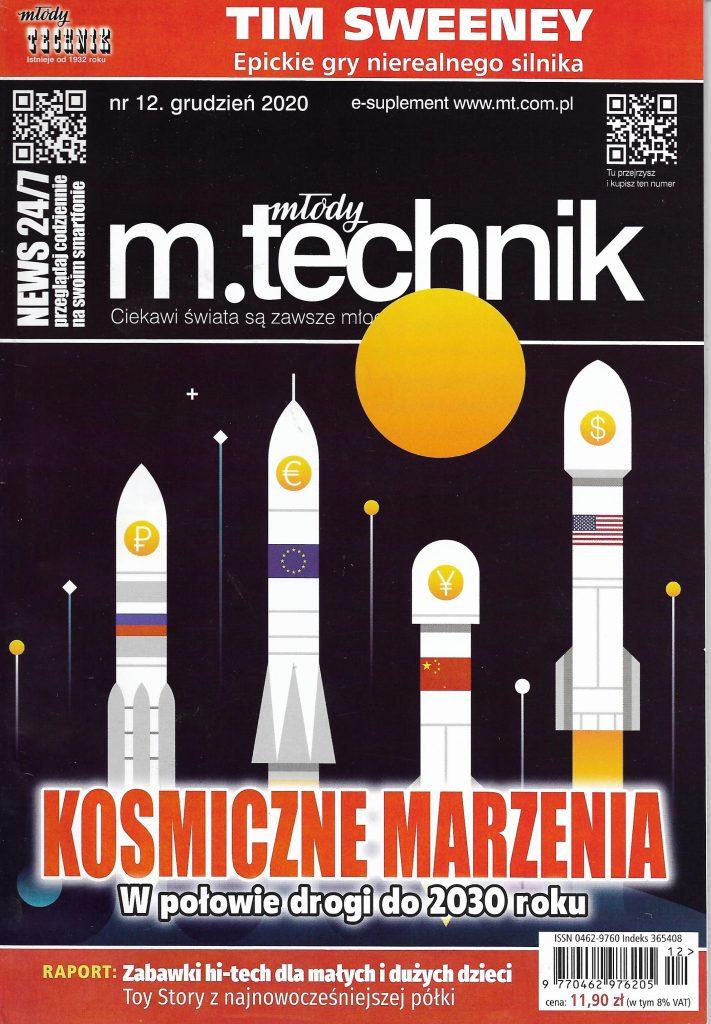 Okladka_Mlody Technik_2021_nr 12
