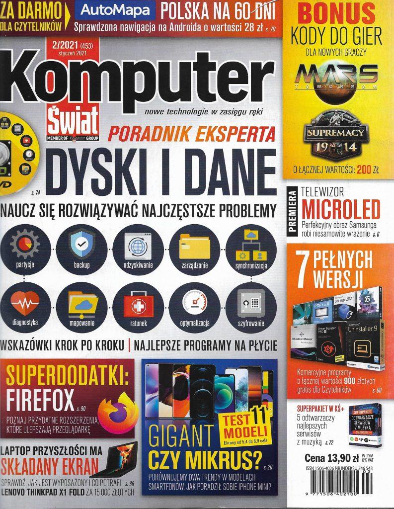 Okladka_Komputer Swiat_2021_nr 2