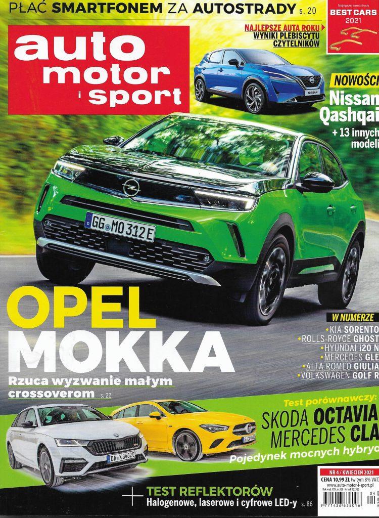 AutoMotorSport_2021_nr 4_okladka