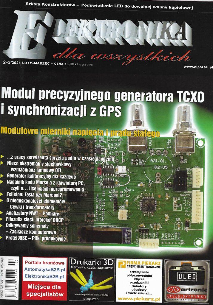 Elektronika dla Wszystkich_2021_nr 2-3_okladka