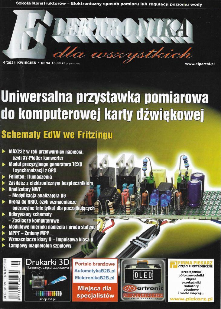 Elektronika dla Wszystkich_2021_nr 4_okladka