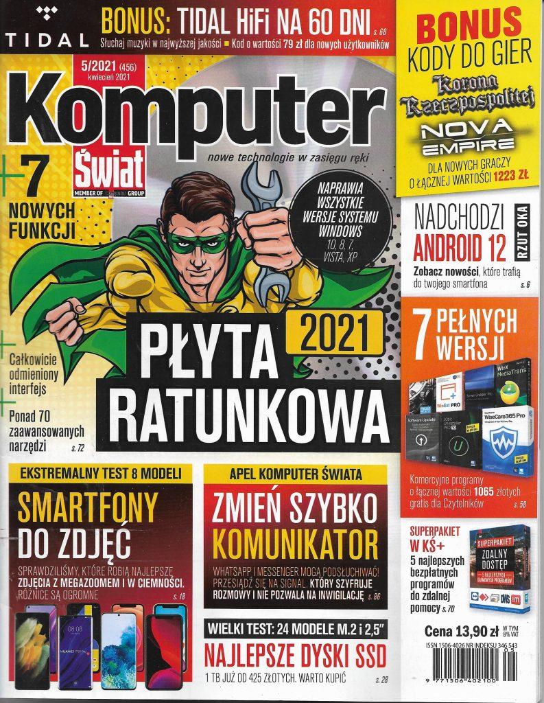 Komputer Świat_2021_nr 5_okladka