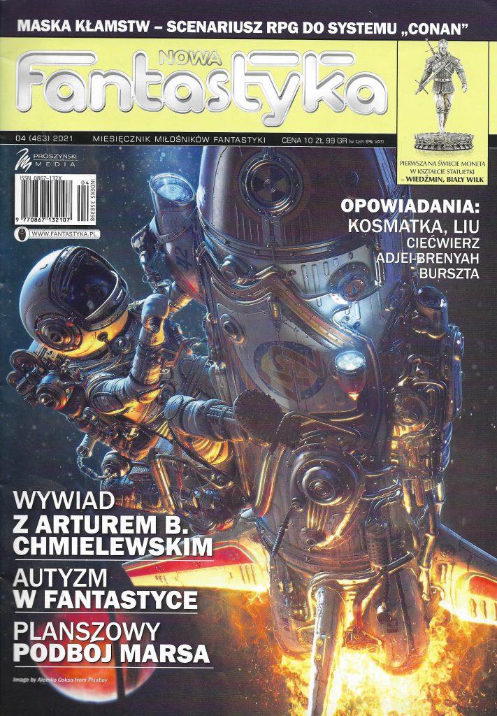 Nowa Fantastyka_2021_nr 4_okladka