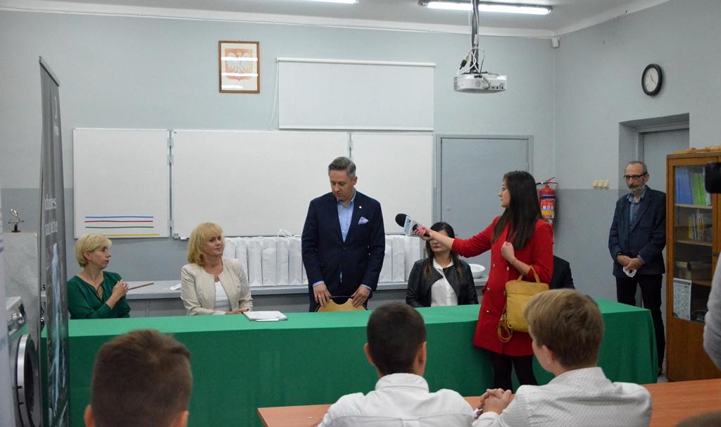 podpisanie umowy patronackiej